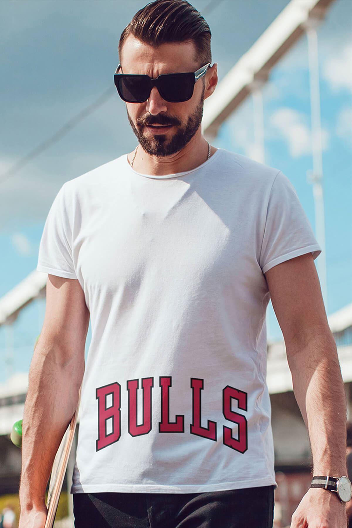 Air Jordan 37 Beyaz NBA Erkek Tshirt - Tişört