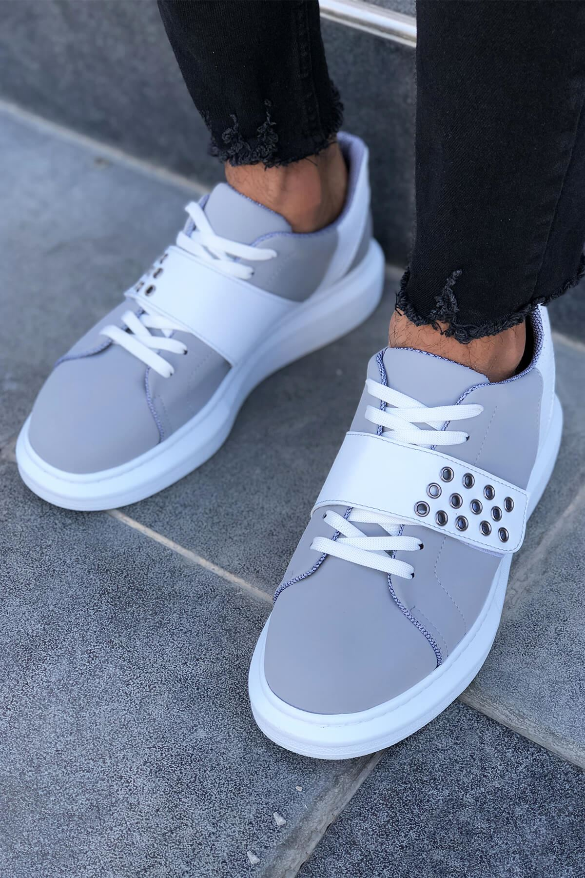 Okso Gri Erkek Spor Ayakkabı