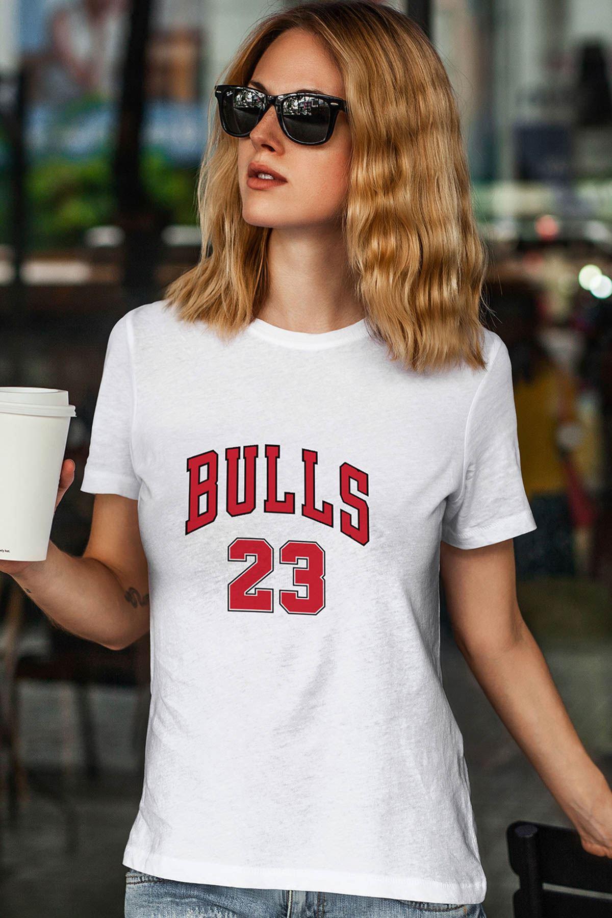 Air Jordan 25 Beyaz NBA Kadın Tshirt - Tişört