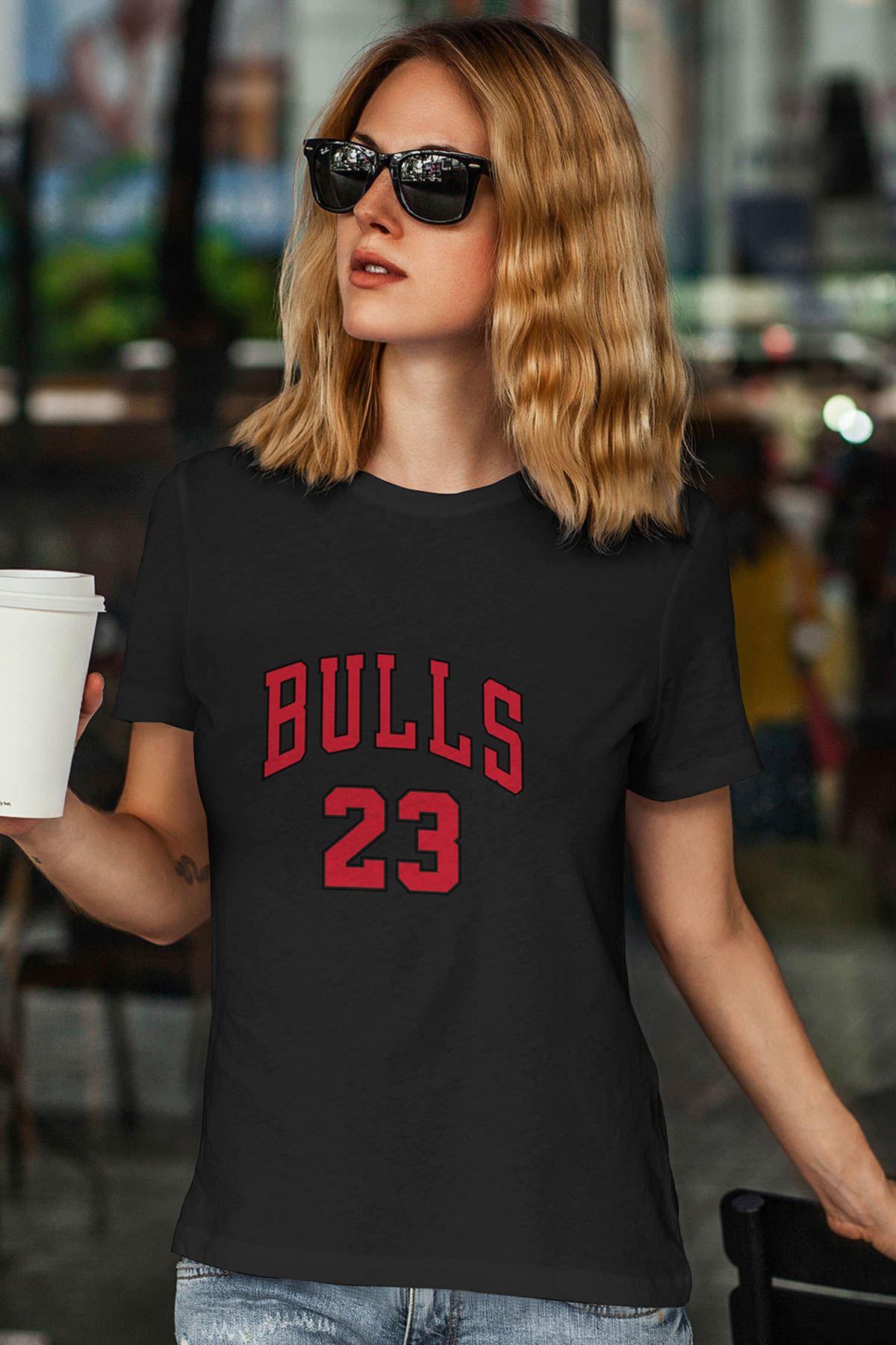 Air Jordan 25 Siyah NBA Kadın Tshirt - Tişört