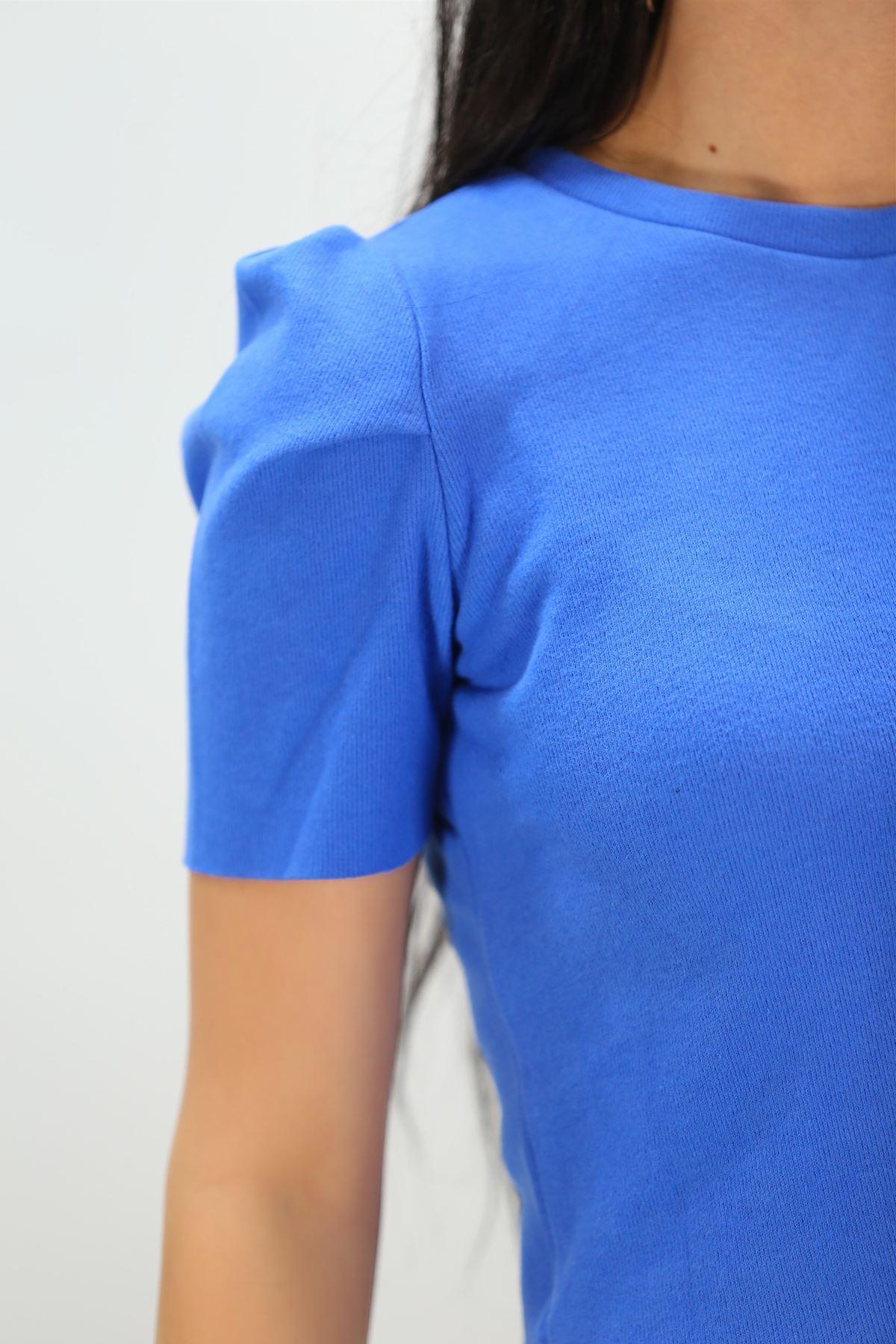 Crop Bluz Mavi - 8069.1186.