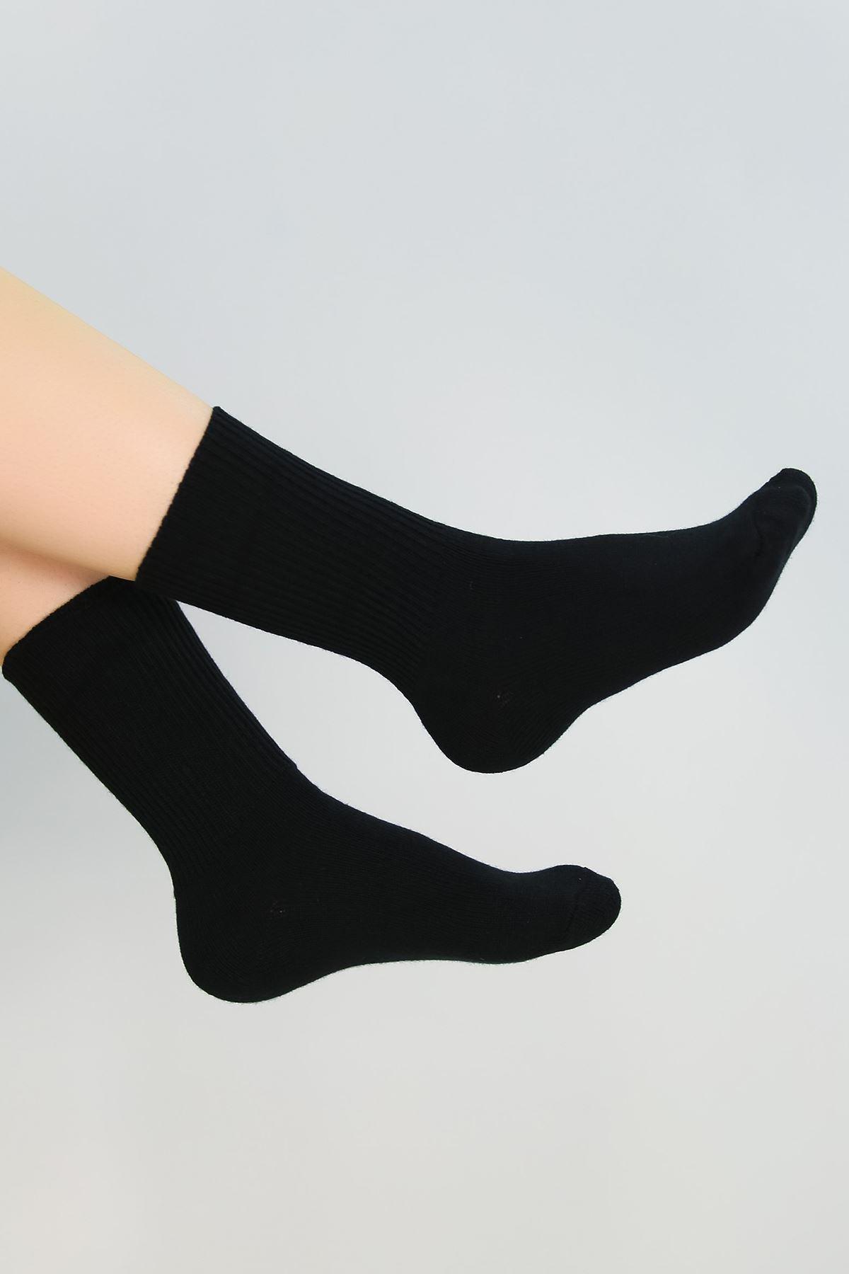 Bayan Bot Çorabı Siyah - 48100.1114.
