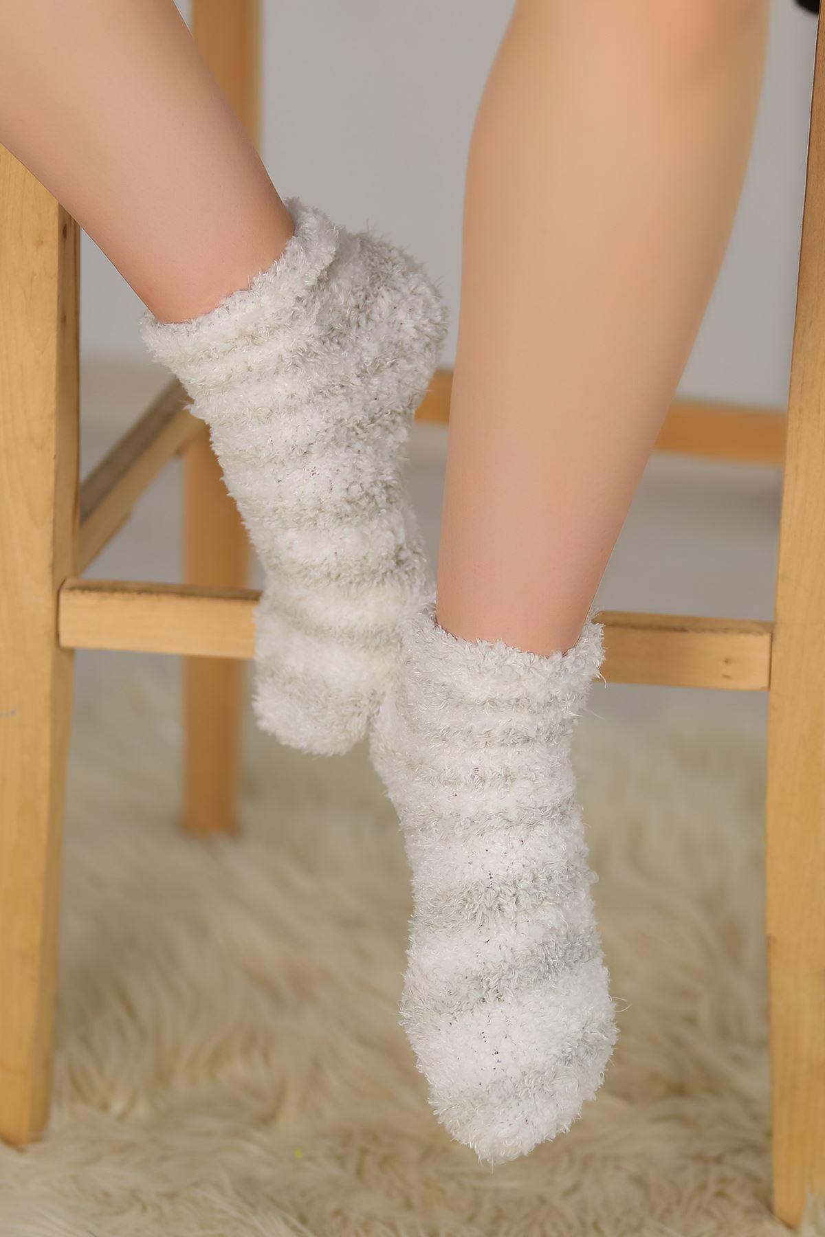 Peluş Çorap Gri - 30850.1114.