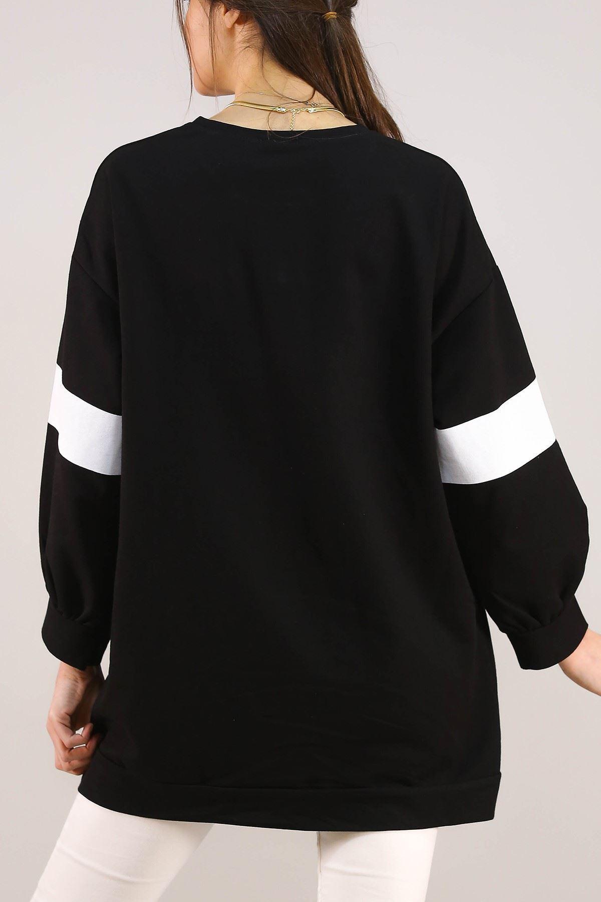 Baskılı Tunik Siyah - 3162.105.