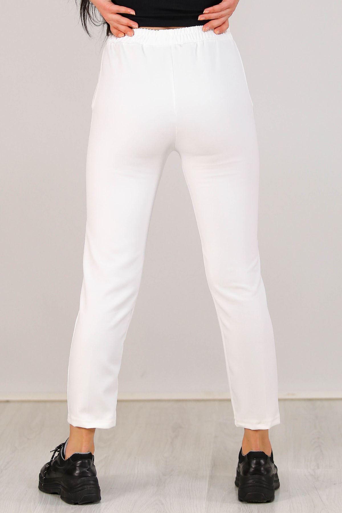 Ayrobin Pantolon Beyaz - 5256.1247.