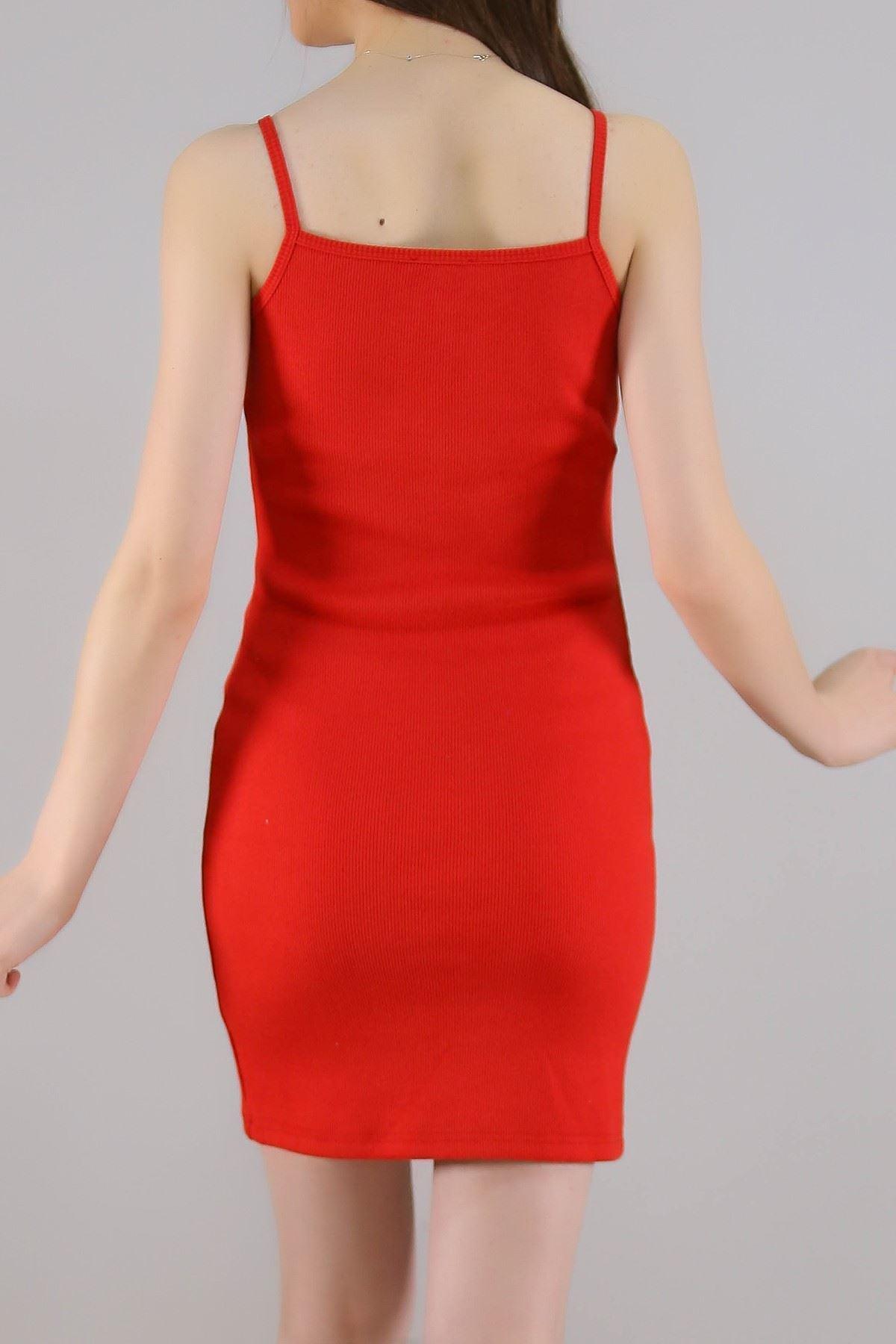 Kaşkorse Elbise Kırmızı - 5277.281.