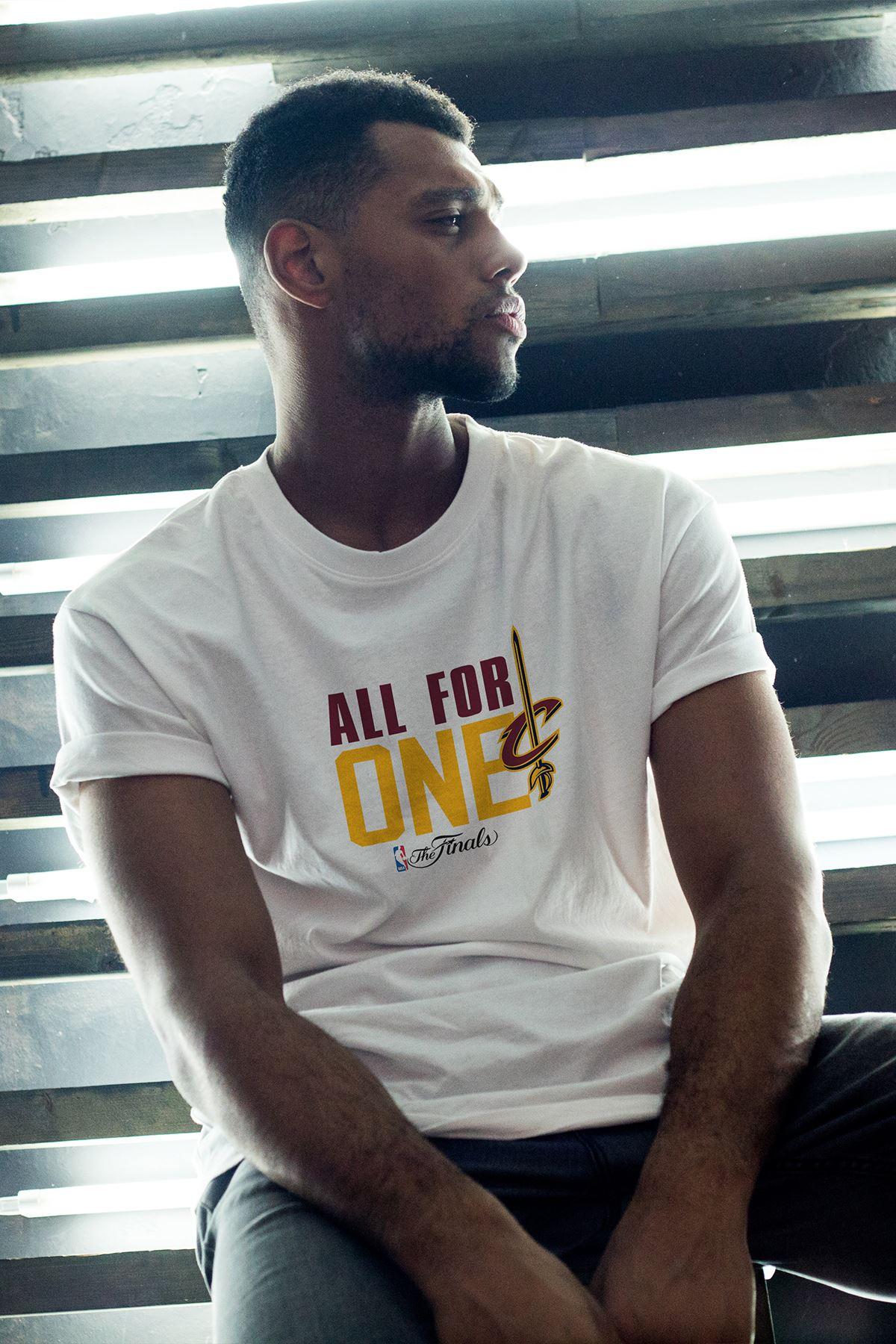 All For One Beyaz Erkek Oversize Tshirt - Tişört