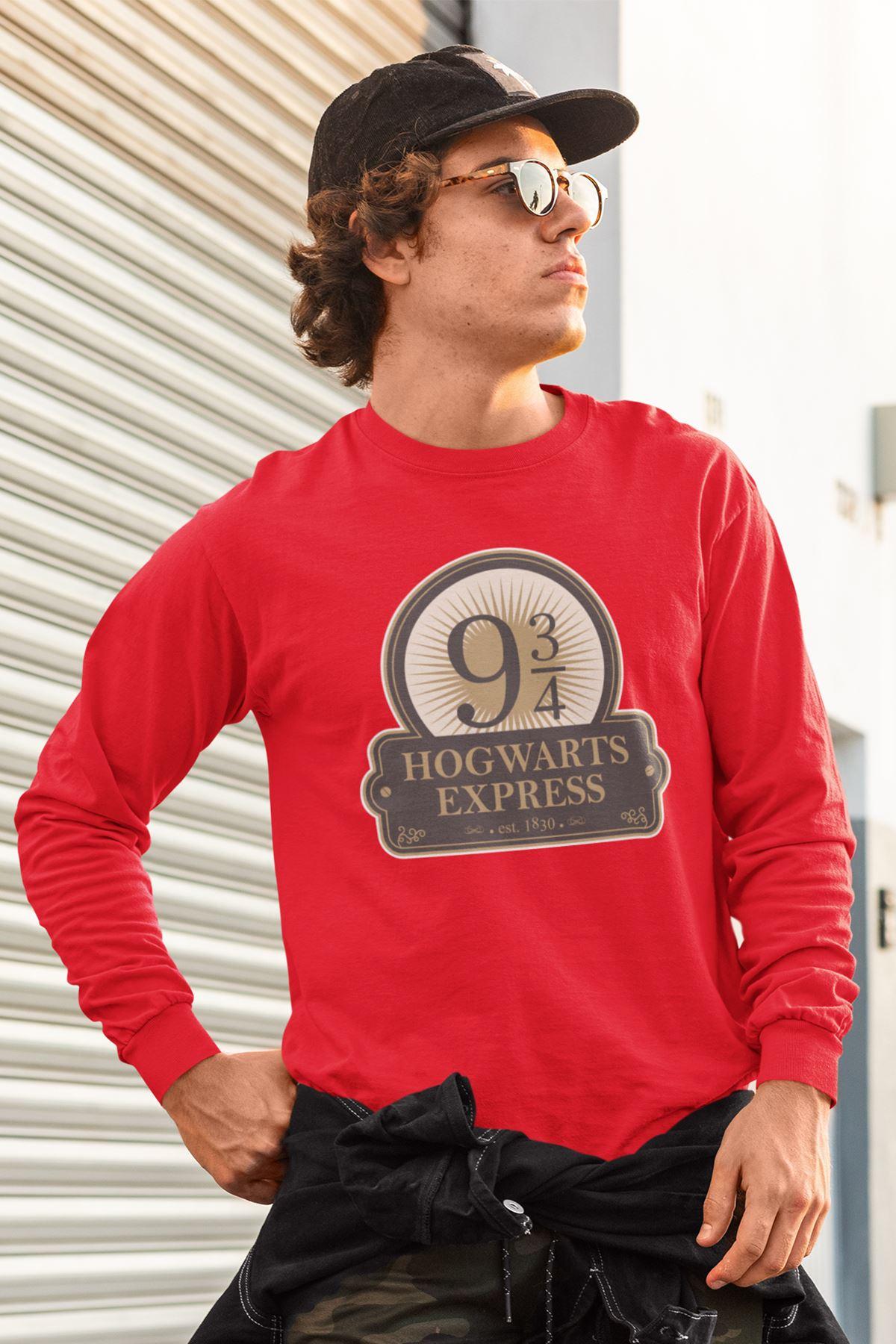 Harry Potter 61 Kırmızı Sweatshirt