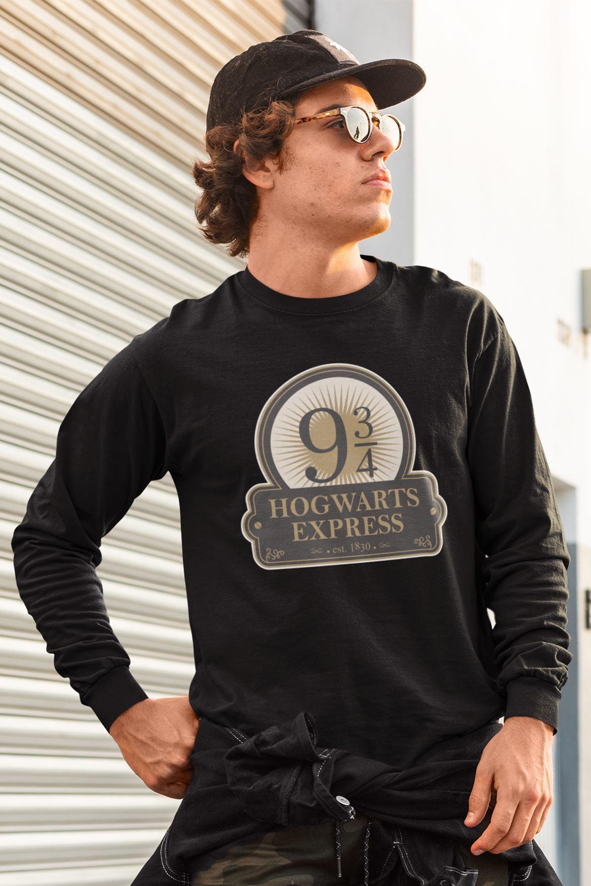 Harry Potter 61 Siyah Sweatshirt