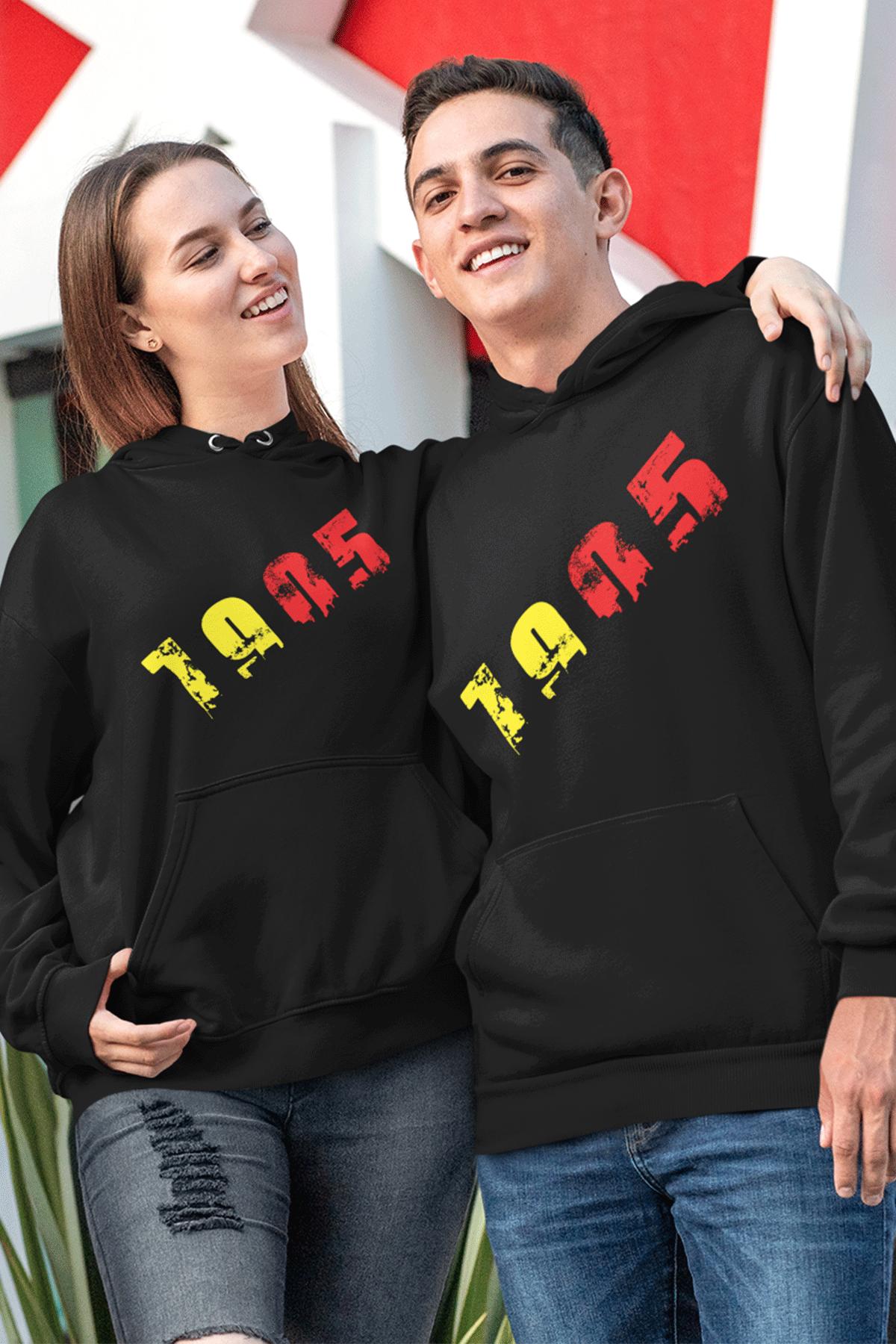 Sevgili Kombini GS 01 Siyah Kapşonlu Sweatshirt - Tek Ürün Fiyatıdır.