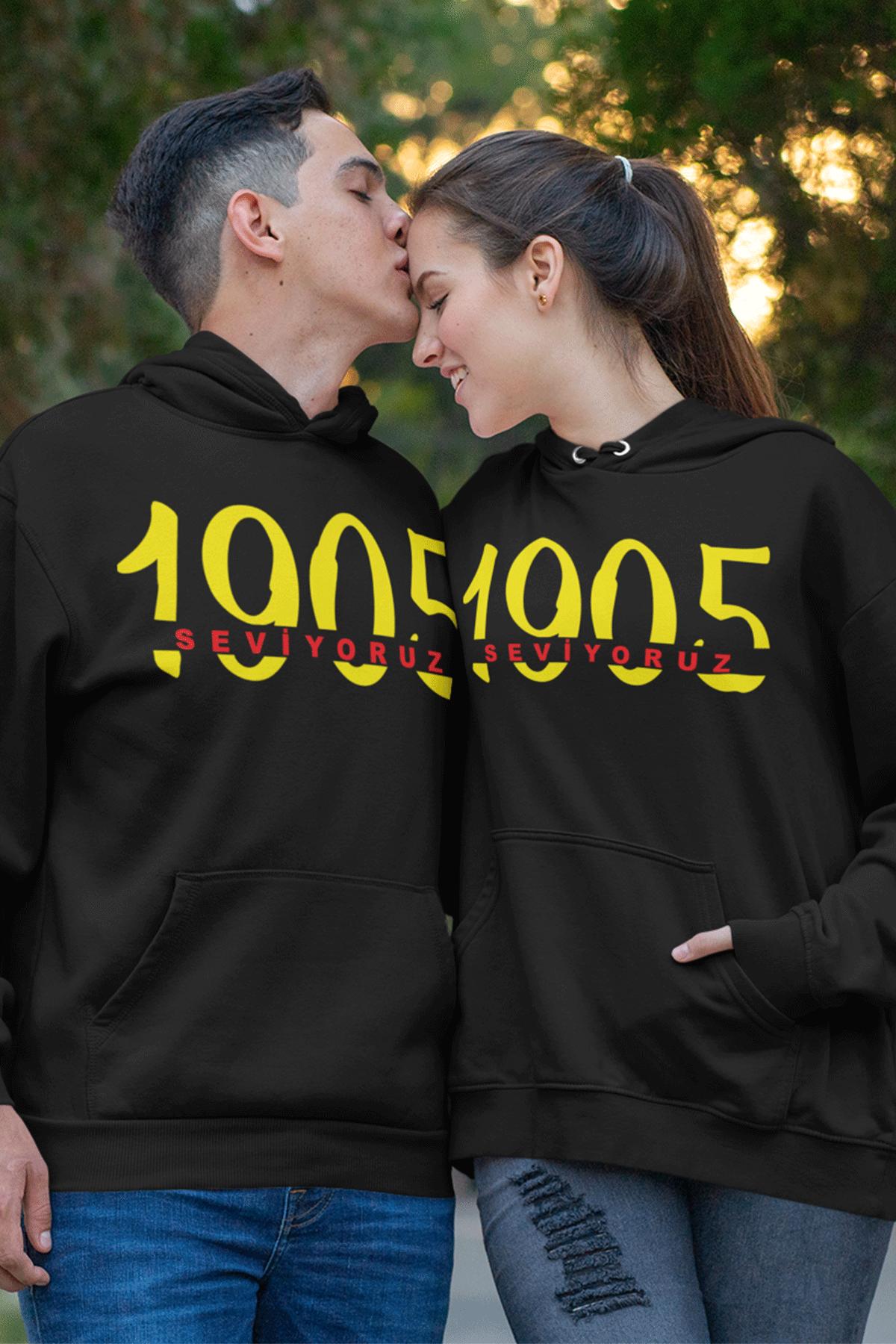 Sevgili Kombini GS 02 Siyah Kapşonlu Sweatshirt - Tek Ürün Fiyatıdır.
