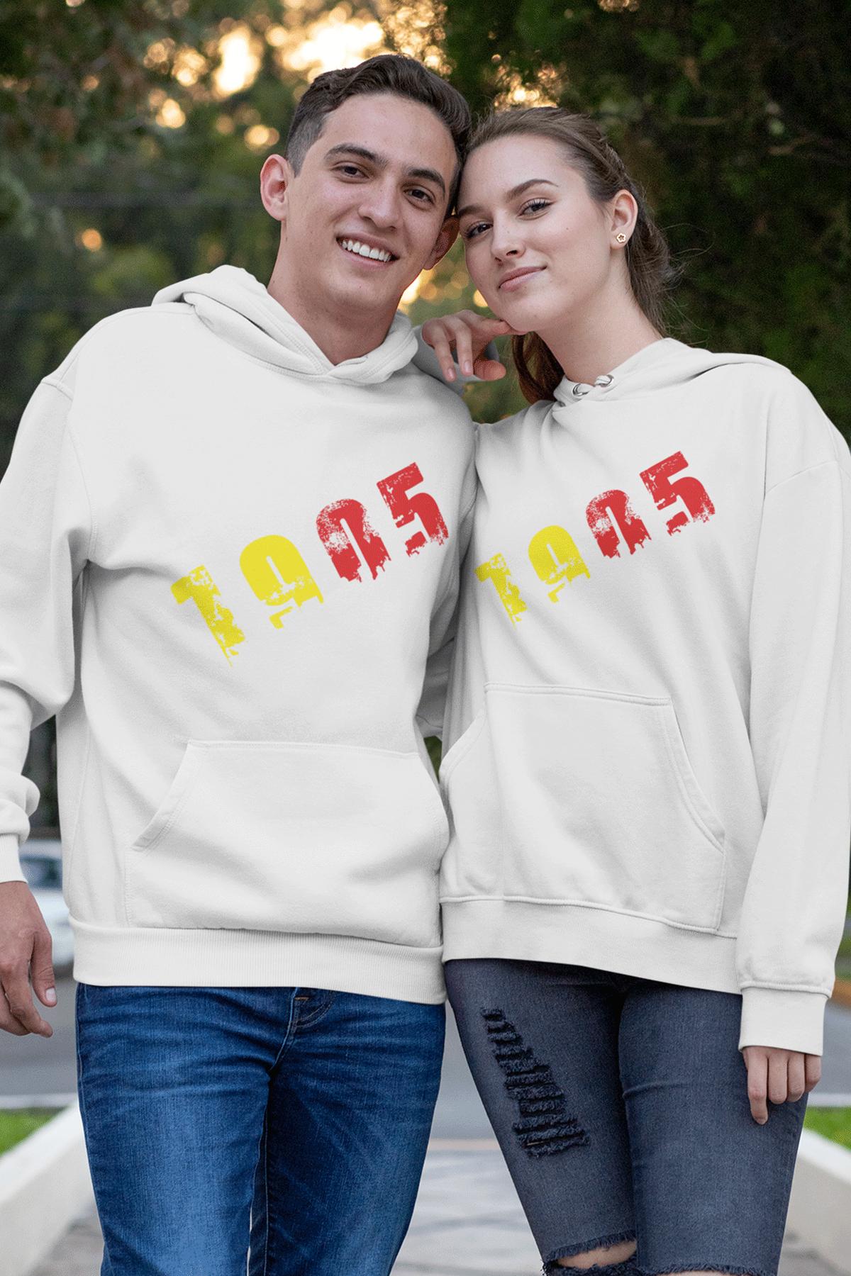 Sevgili Kombini GS 01 Beyaz Kapşonlu Sweatshirt - Tek Ürün Fiyatıdır.