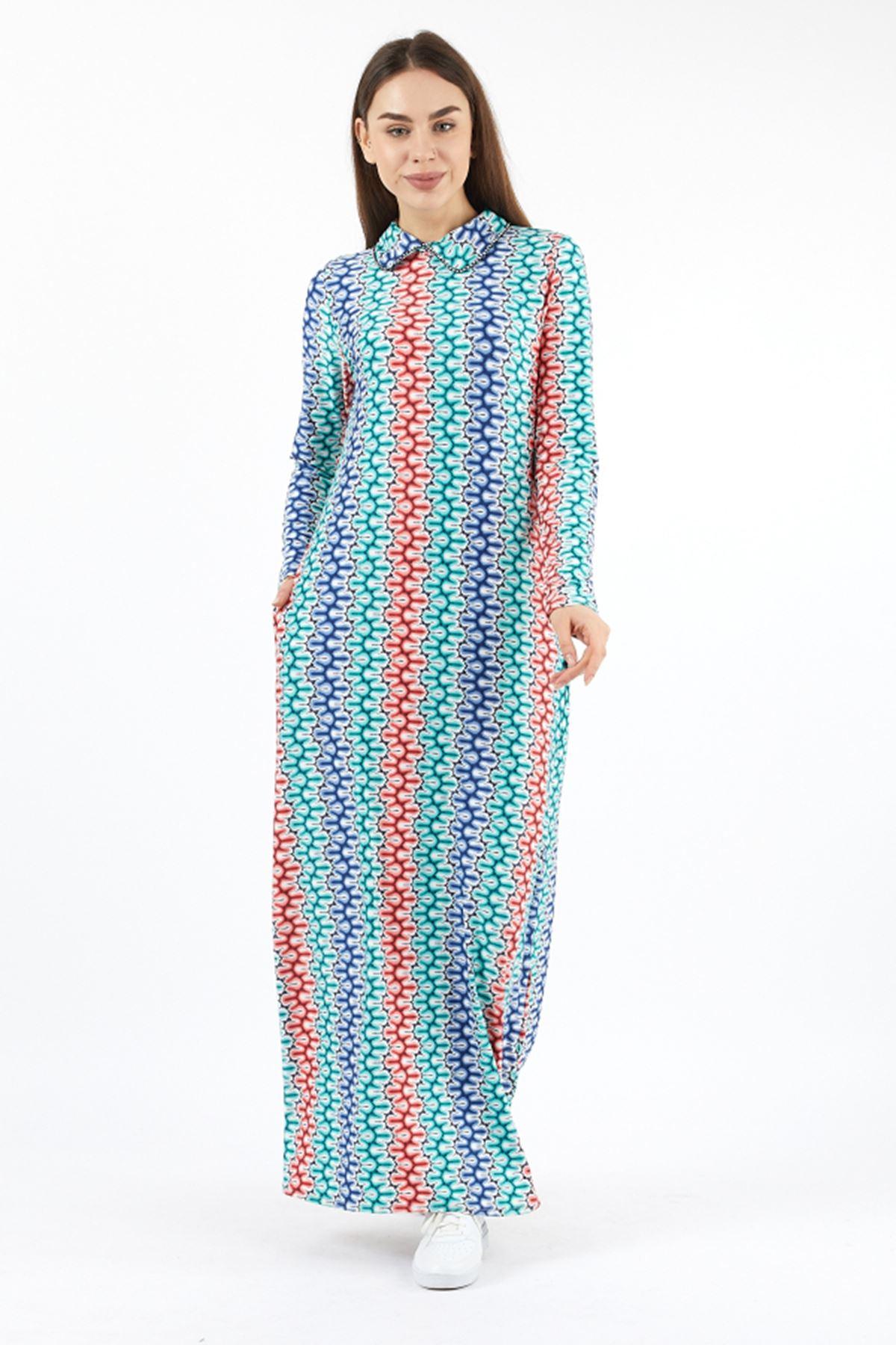 Büyük Beden Kadın Uzun elbise