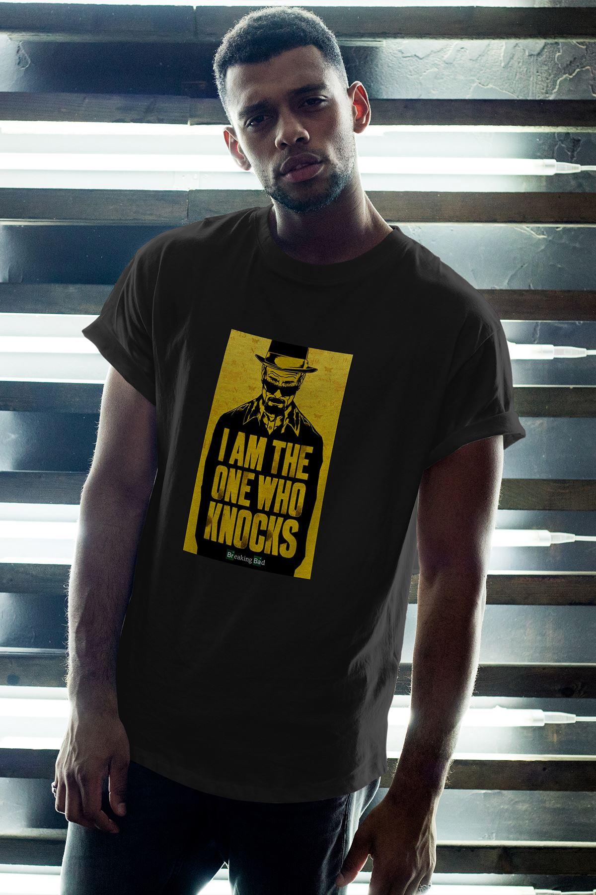 MR White Siyah Erkek Oversize Tshirt - Tişört