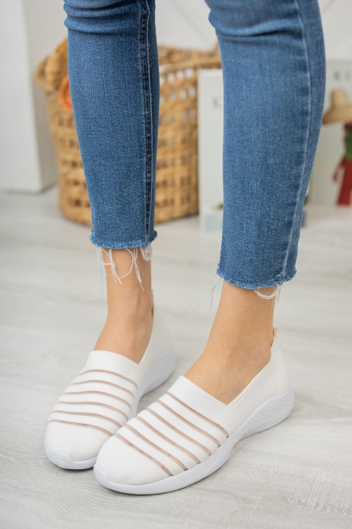 Step Comfort Günlük Ayakkabı- Beyaz