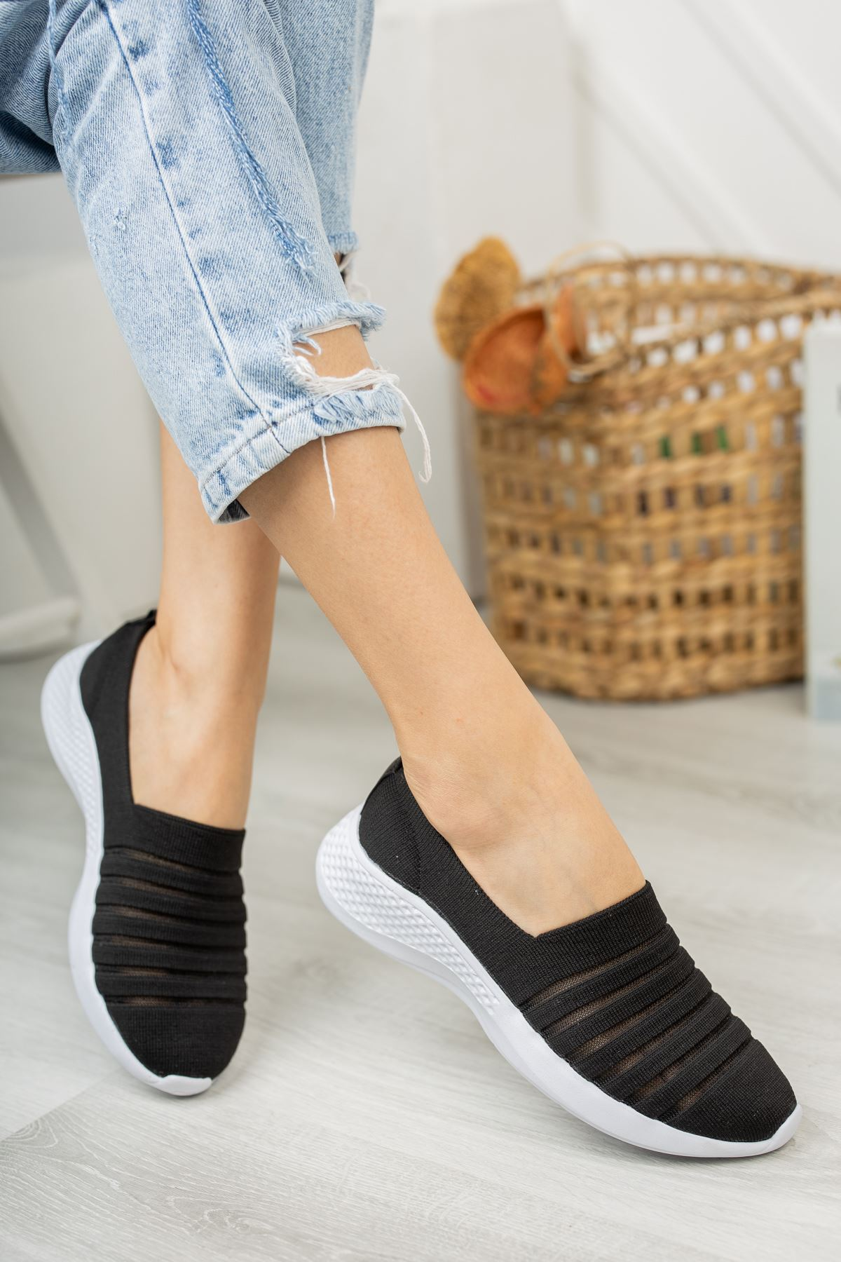 Step Comfort Günlük Ayakkabı- Siyah
