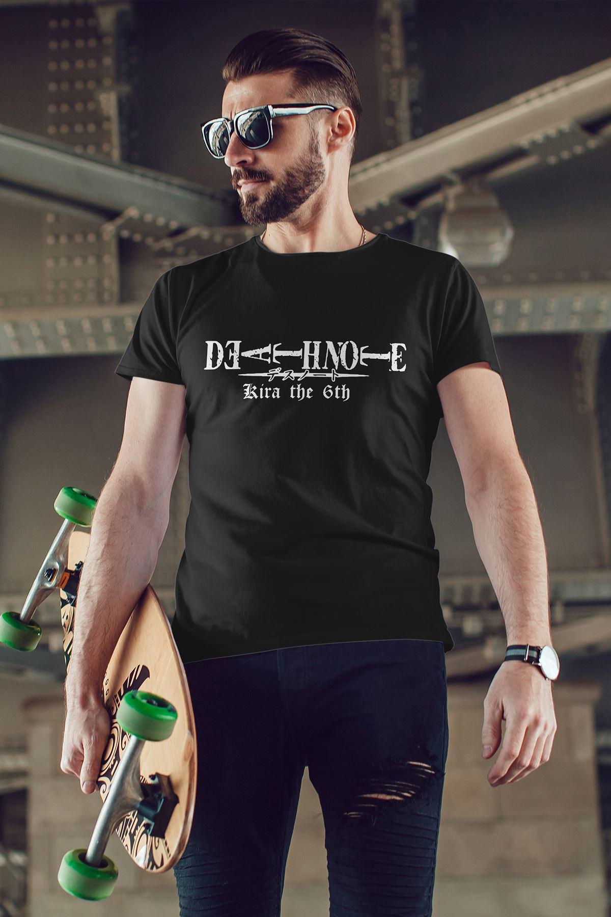 Anime Death Note Siyah Erkek Tshirt - Tişört
