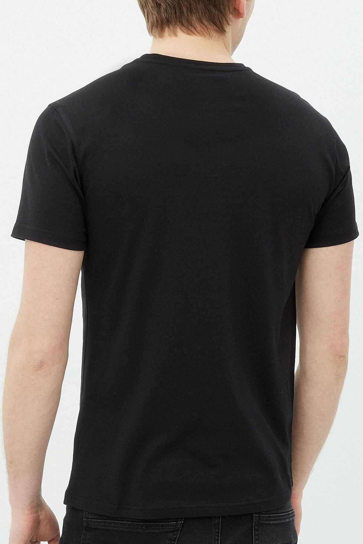 Anime Monkey Siyah Erkek Tshirt - Tişört